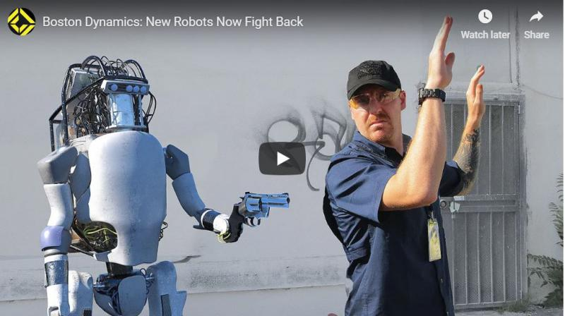 Viralen upor robota: po res »nečloveški« torturi pretepel svoje stvaritelje in se jim uprl z orožjem v roki!