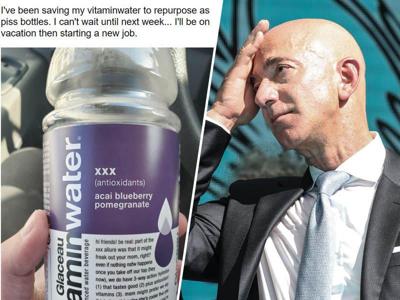 Najbogatejši Zemljan s svojo zahvalo delavcem in kupcem Amazona, ki so mu plačali polet v vesolje »zažgal internet«