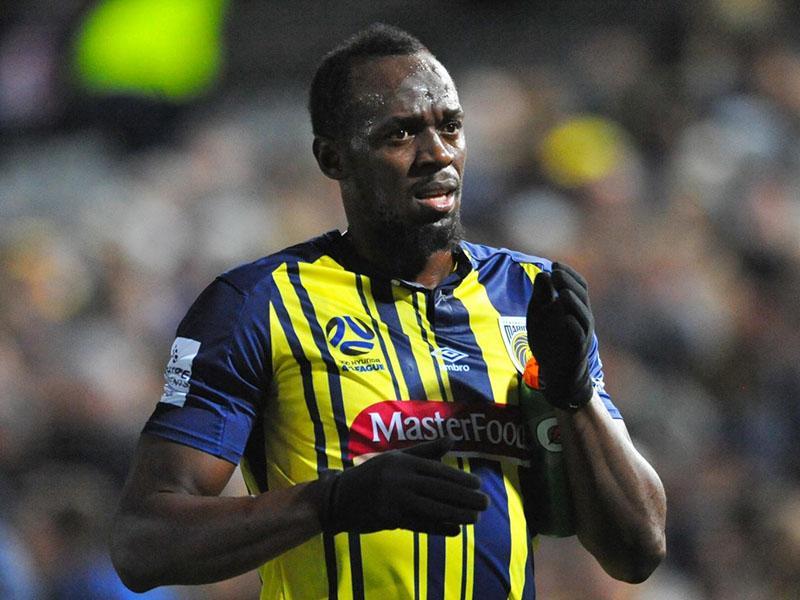 Usain Bolt zabil dva gola