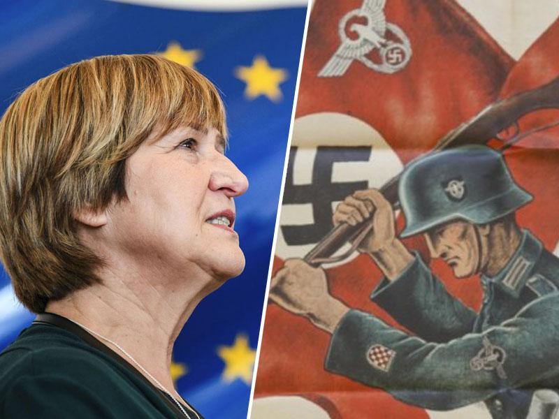 Evroustaštvo: Hrvati v Evropski parlament poslali poslanko, ki malikuje ustaštvo