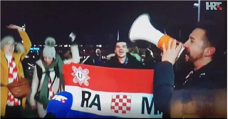 Nov škandal na HRT: v osrednjih poročilih v ospredju ustaška zastava zločinske NDH