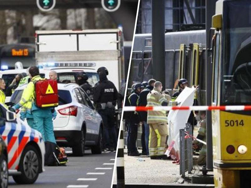 Teroristični napad v Utrechtu: policija aretirala napadalca