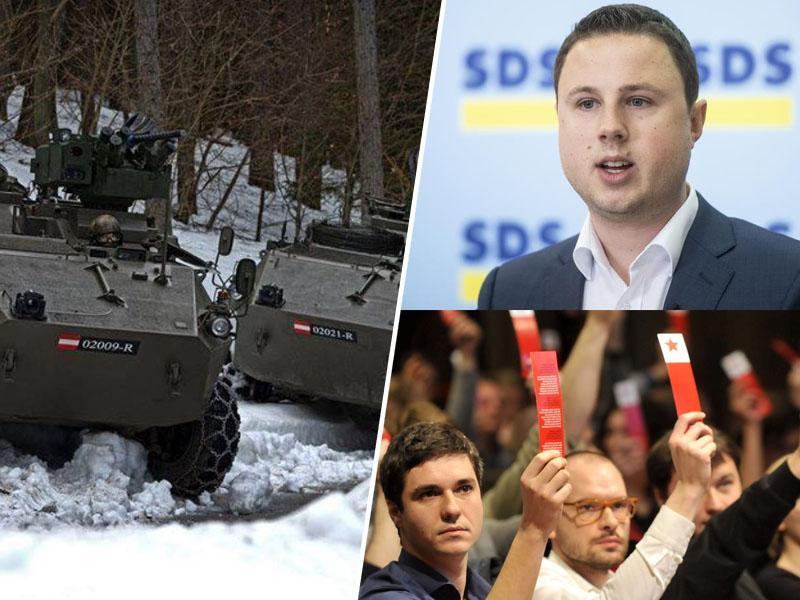 Levica in desnica skupaj - proti modernizaciji Slovenske vojske