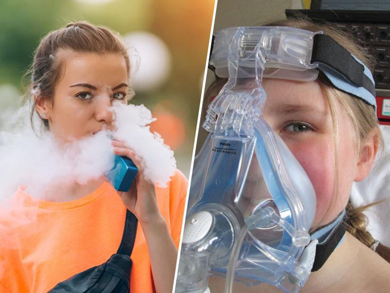 Štirinajst mladih uporabnikov elektronskih cigaret zaradi problemov z dihanjem končalo v bolnišnicah