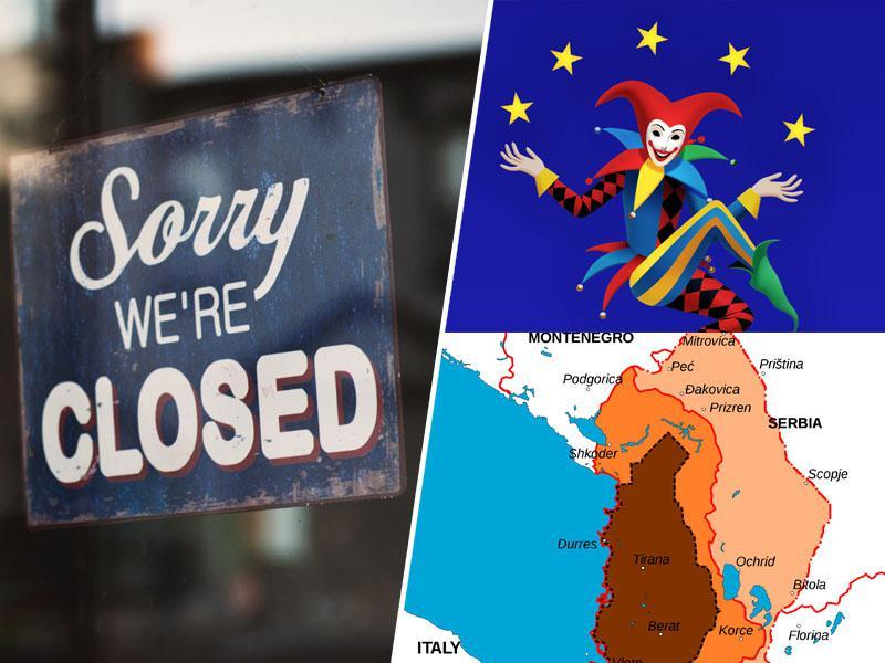 Nemški tisk: Velikoalbanske pretenzije znova dobile zagon, konflikti tlijo, Balkanu in Evropi grozijo nove vojne
