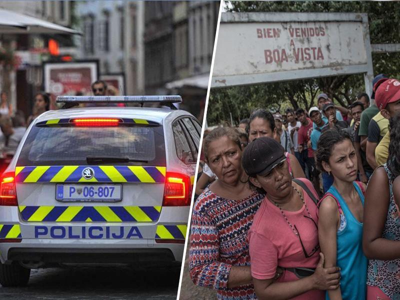 Policija nad slovensko društvo, ki pomaga venezuelskim Slovencem