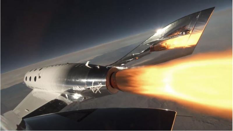 Vesoljske vozovnice do leta 2021 že razprodane: raketoplan Virgin Galactica prvič zares poletel v vesolje