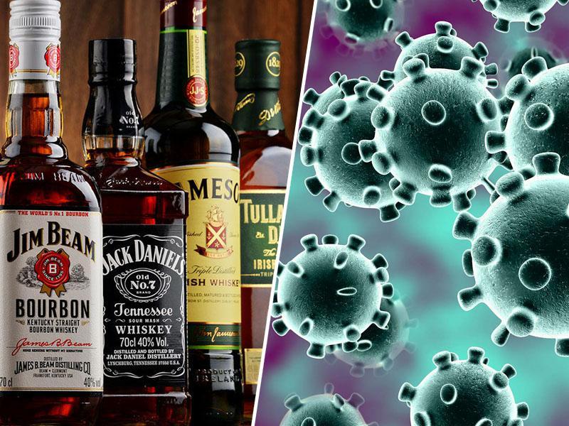 25-letnik trdi, da se je koronavirusa uspešno ubranil – s steklenico viskija