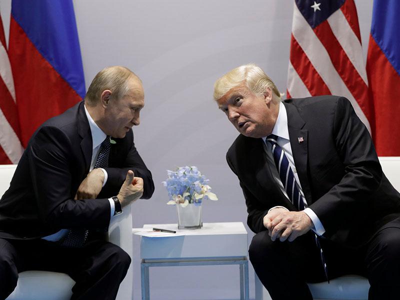 Trump in Putin v ponedeljek na vrhu v Helsinkih