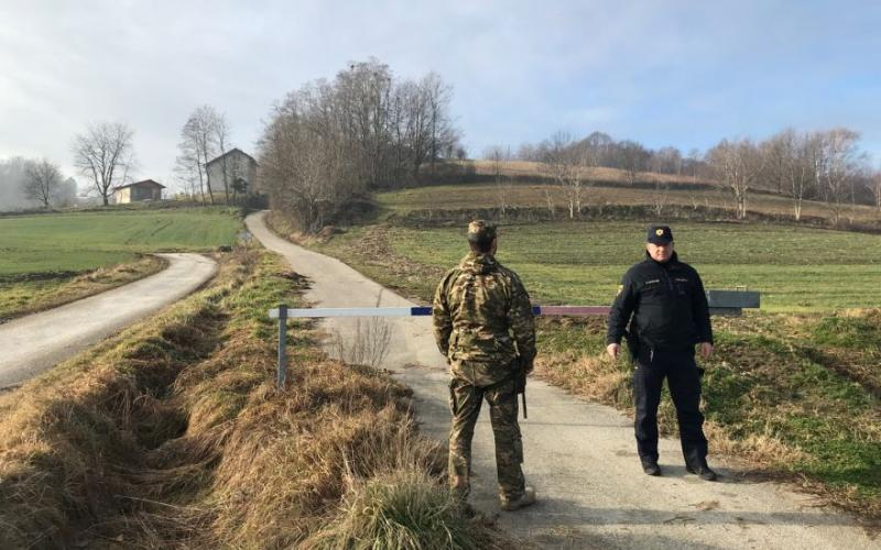 V Pomurju znova nezakoniti prestopi meje