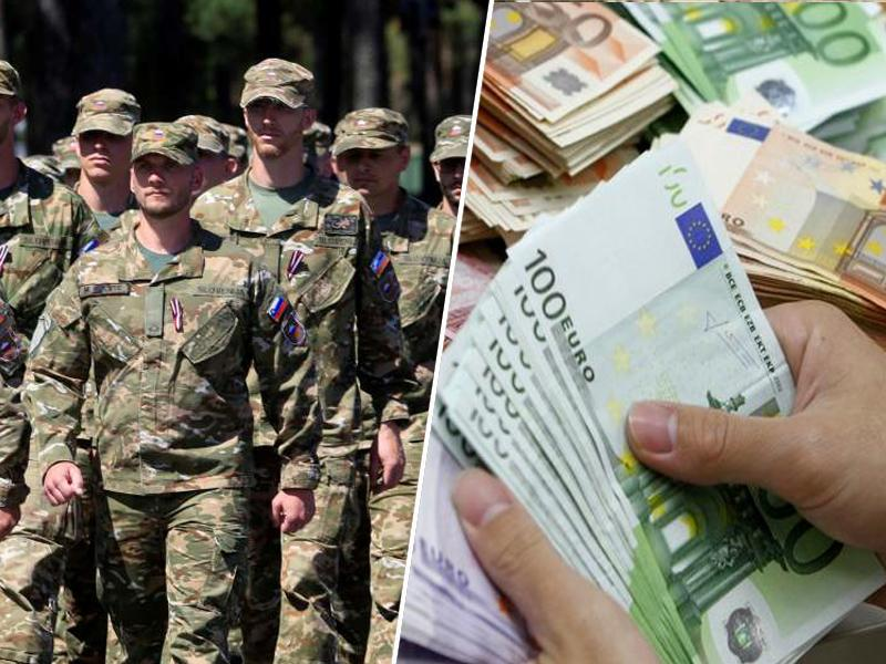 Dodatki v Slovenski vojski: damo, vzamemo, vrnemo