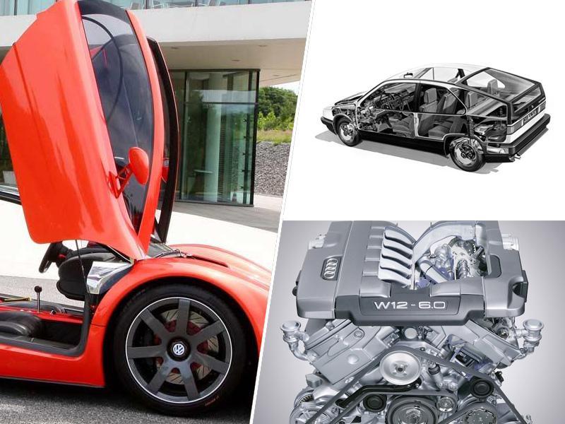 Iz avtomobilske zakladnice zanimivih prototipov VW - od najbolj varčnih do izjemno hitrih