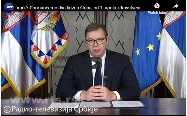 Srbski predsednik Nemčiji lagal o številu respiratorjev - da bi dobil nove