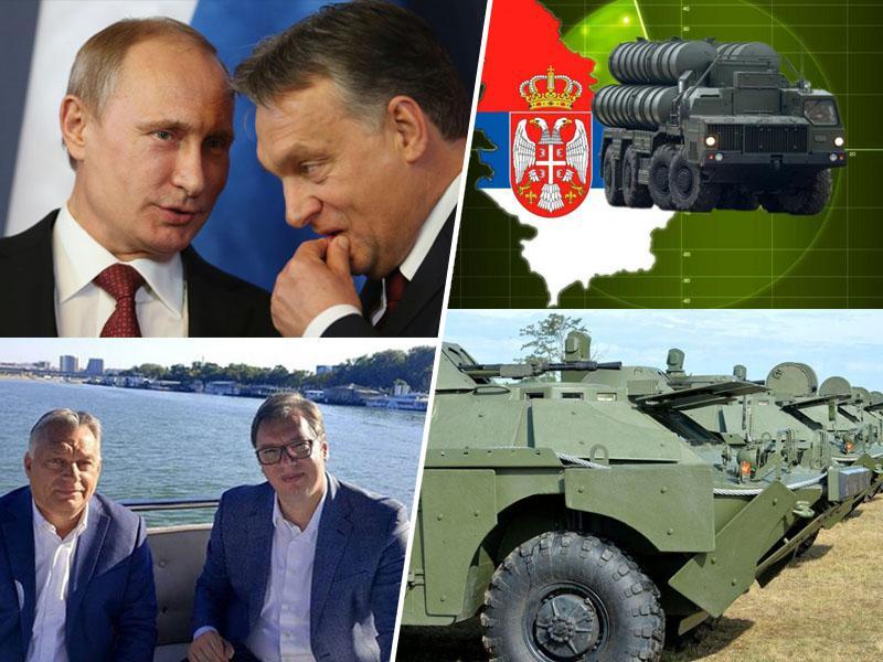 Bolgarija grozi Srbiji, Romunija jo blokira, toda Madžarska ji ponuja roko in varno pot do Rusije
