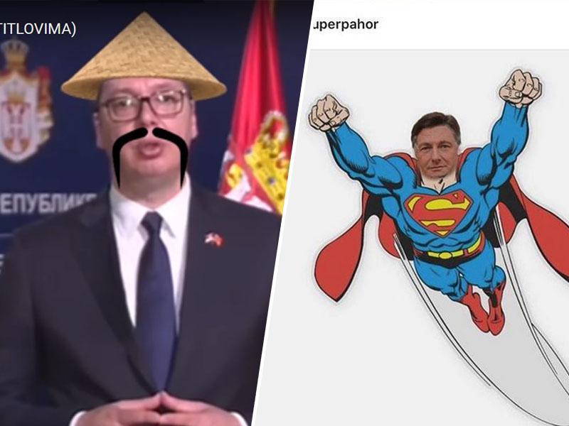 Virus nagovorov se širi: Pahorju v polomljeni slovenščini odgovoril predsednik Litve, nas bo razveselil tudi Trump?