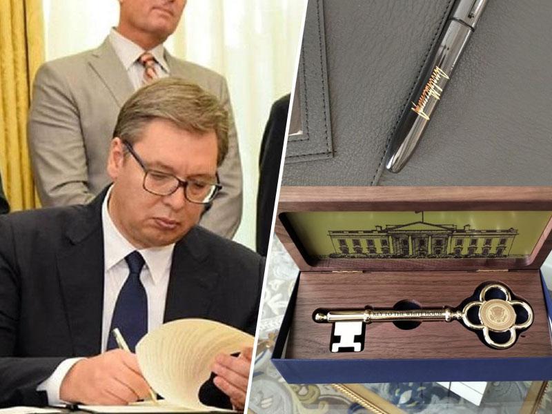 Podpis Vučića, diplomatska katastrofa Srbije: Se je zaradi ene vejice Srbija že odrekla Kosovu?