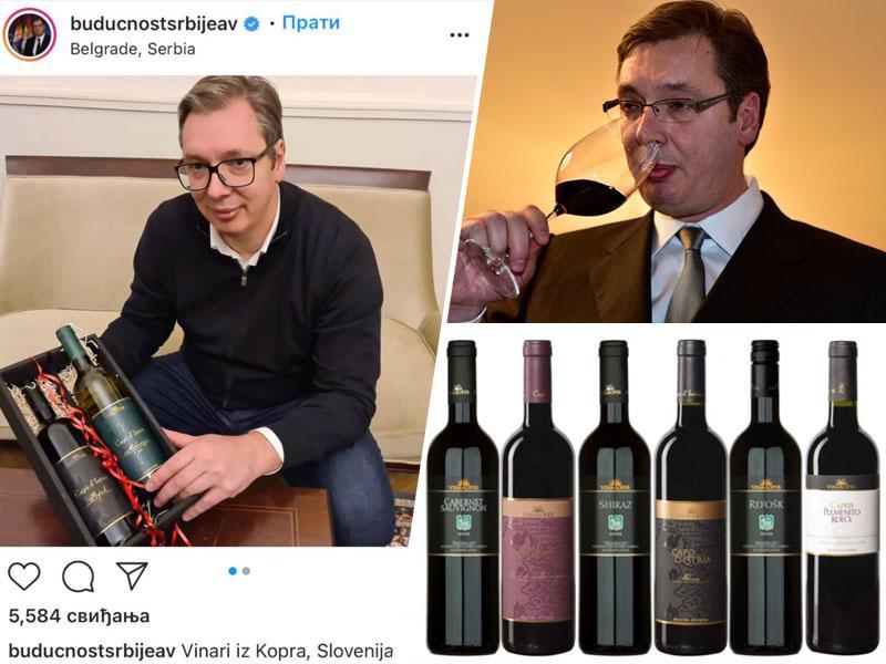 Srbski predsednik: »Vinarji iz Kopra so mi pokazali, da so bolj ljubeznivi in pametnejši od mene. Živeli, dragi prijatelji!«