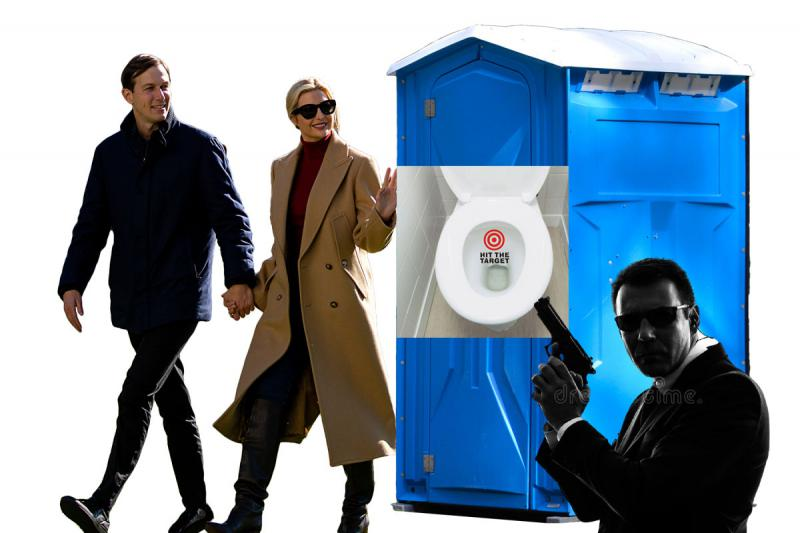 Uporaba WC-ja strogo prepovedana! Trumpova hčerka in zet zagrenila življenje pripadnikom tajne službe