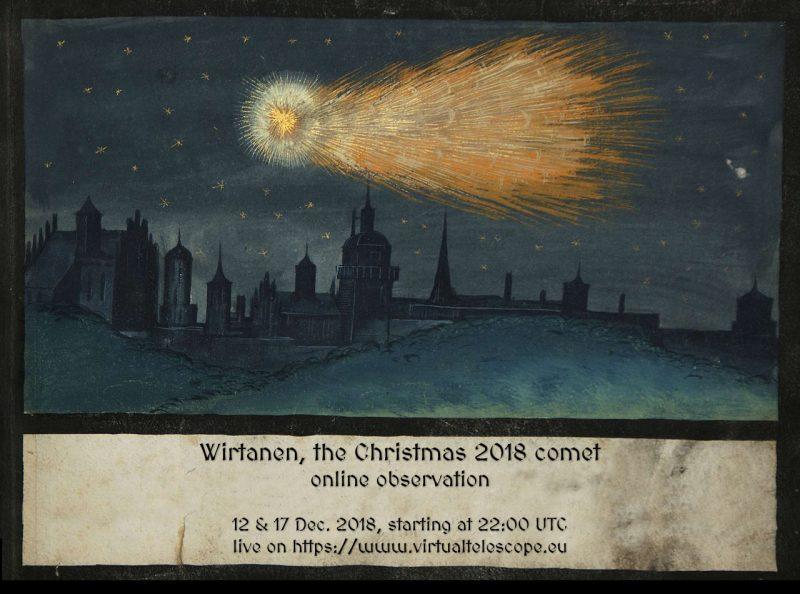 Božični komet že drvi proti Zemlji