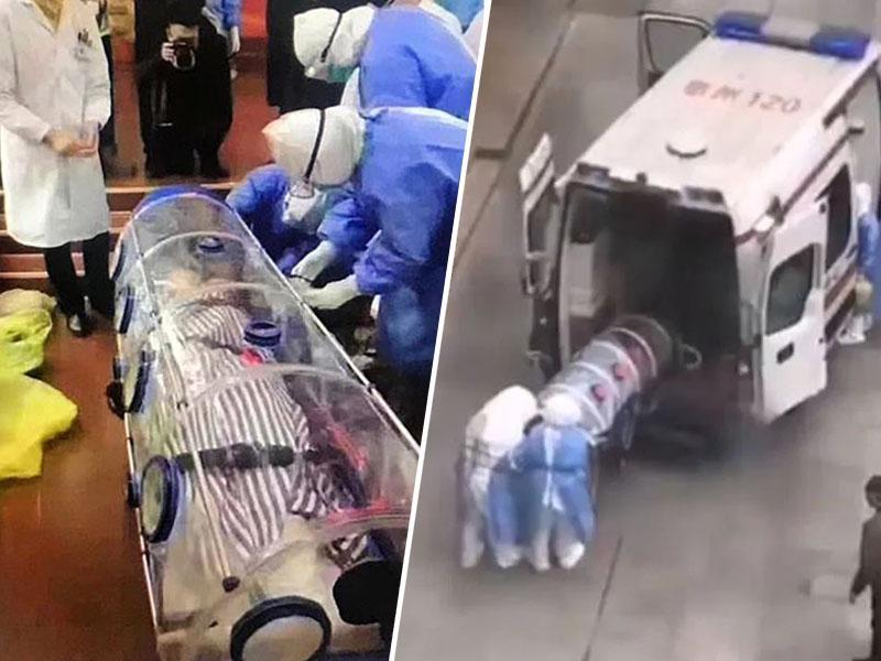 Strašljivo: 11-milijonski Wuhan v popolni karanteni, bolnike odvažajo v plastičnih zabojnikih