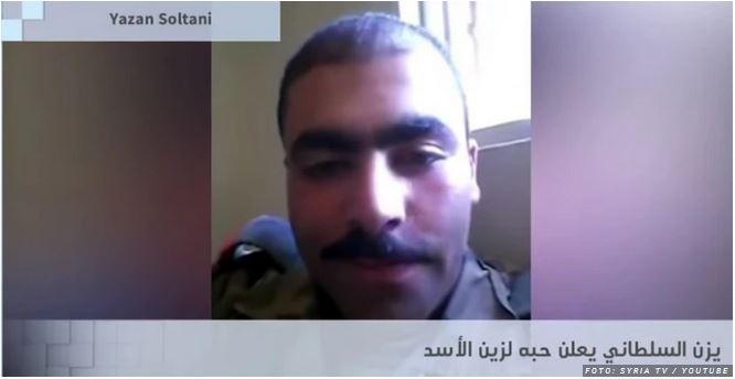 »Nor sem nate, bodi moja!« Sirski vojak izpovedal ljubezen do mladoletne Asadove hčere, nato pa - izginil