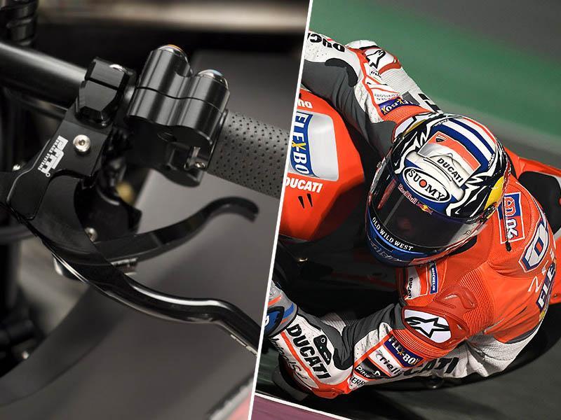 Ducatijevo orodje za ovinke: Pritisni, da zaviješ!