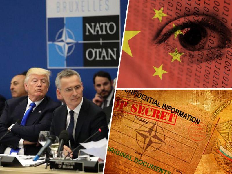 Trump se proti Kitajcem poslužuje vseh možnih prijemov, zdaj že zvezo NATO prepričuje, da zanj vohuni na Kitajskem