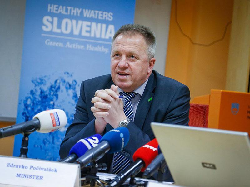 Gospodarski minister Počivalšek poudarja: