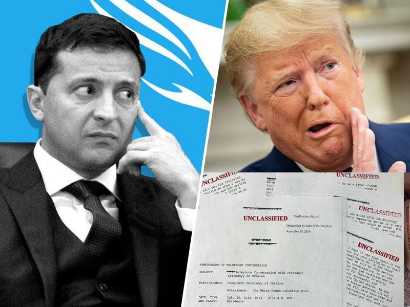 Je Bela hiša ponaredila prepis pogovora Trump - Zelenski, da bi prikrila predsednikove kršitve?
