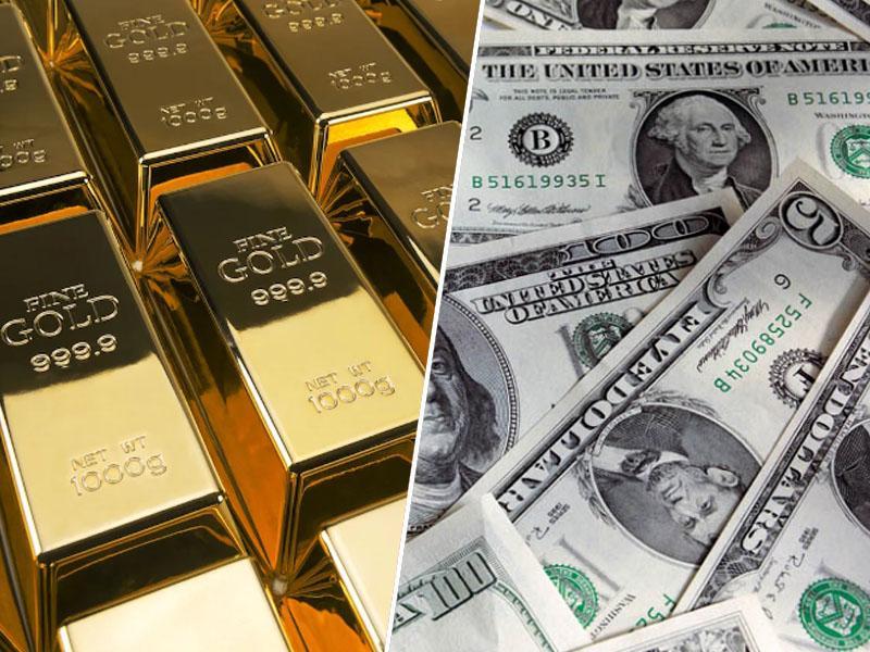 Zaton dolarja ali »le« kriza pred vrati? Centralne banke širom sveta kupujejo ogromne količine zlata in prodajajo dolarje