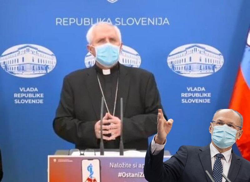 Nadškof na tiskovki: bo teokratska država kmalu povsod samo še pohlevna služkinja vsemogočne Katoliške cerkve?