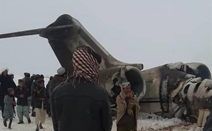 Ameriško letalo v Afganistanu
