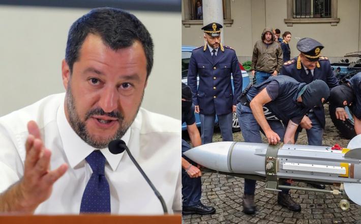 Salvini in orožje neonacistov