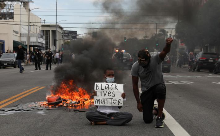 Protesti zaradi rasizma v ZDA