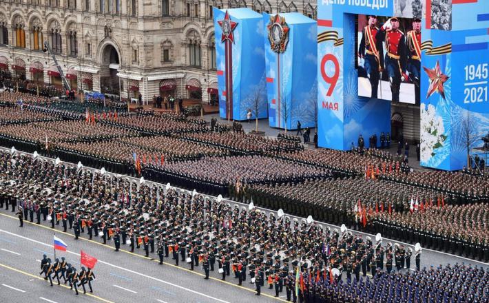 Parada ob 9. maju v Moskvi