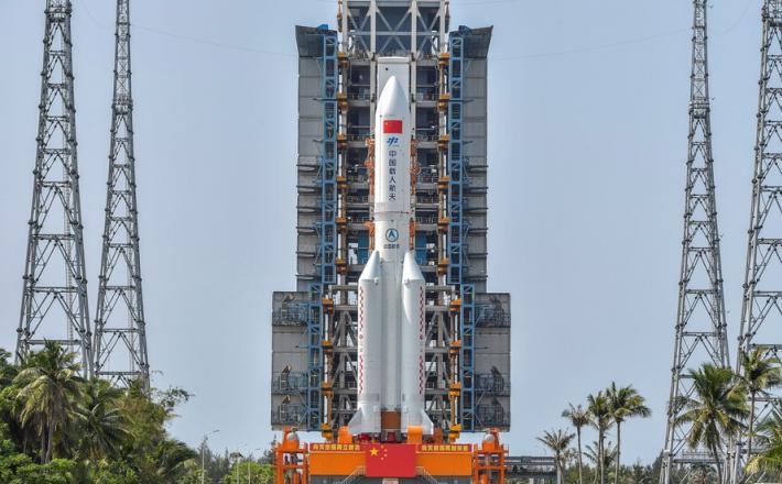 Raketa Dolgi Pohod 5  Vir: CT, Twitter