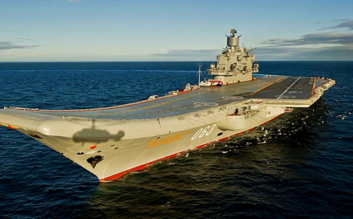 Letalonosilka Admiral Kuznjecov