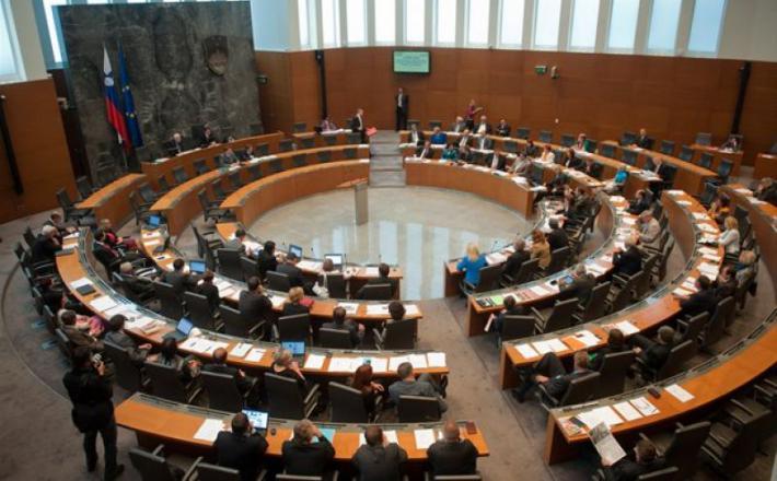 Državni zbor - notranjost