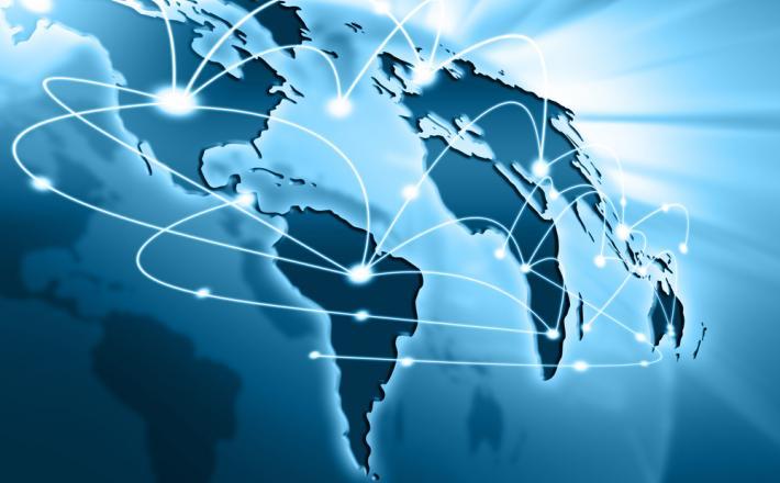 Internet - prikaz povezav