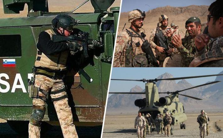 Slovenska vojska v Afganistanu