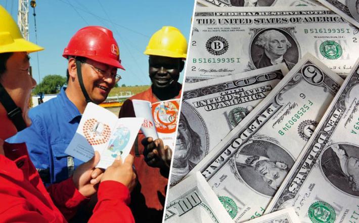 Afrika, Kitajska, dolar