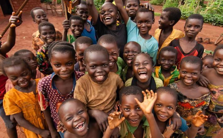 Otroci Afrika