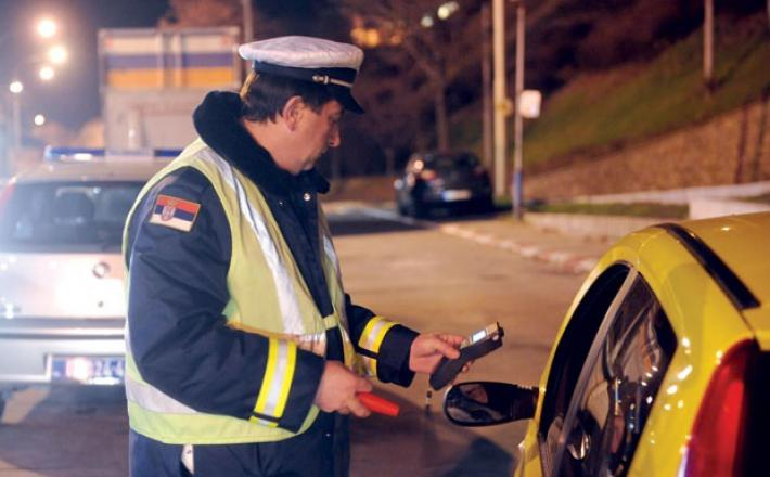 Alkotest, policija Srbije
