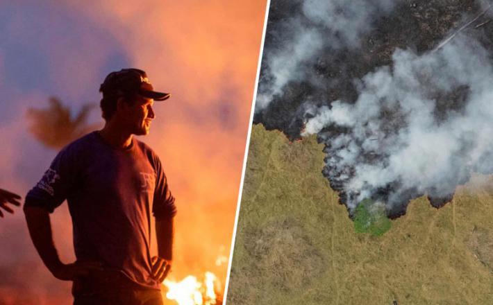 Ogenj v Braziliji - Amazonija