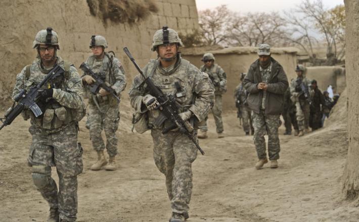 Ameriški vojaki v Afganistanu