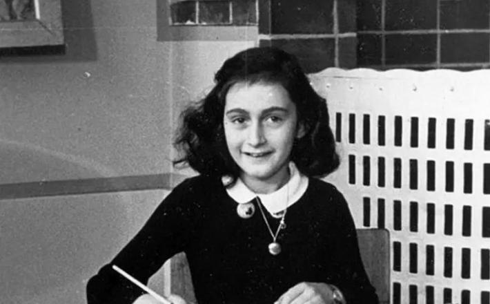Ana Frank piše