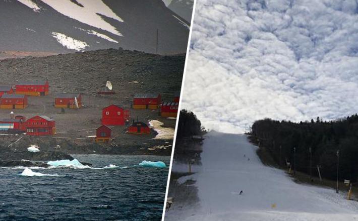 Antarktika in Pohorje