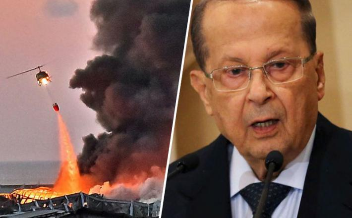 Libanonski predsednik še vedno ne ve, kaj bi lahko povzročilo eksplozijo