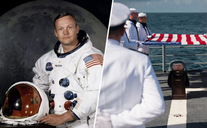 Neil Armstrong - astronavt in slovo
