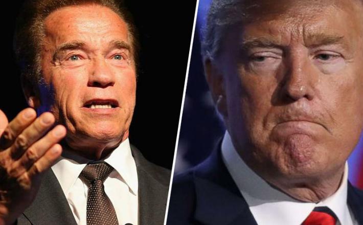 Arnold Shwarzenegger in Donald Trump